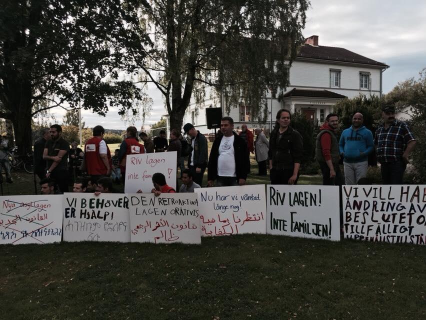asylmanifestation