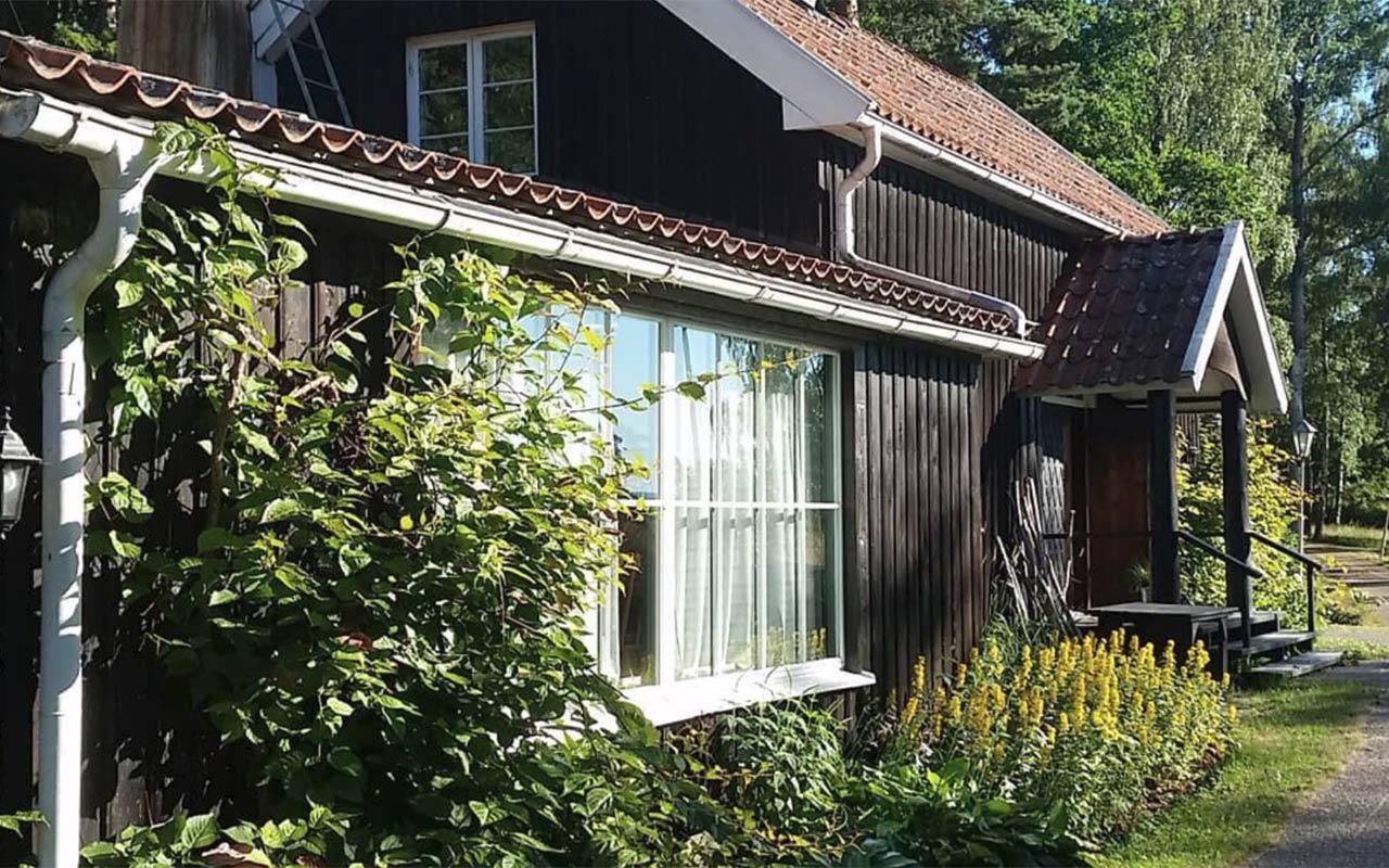 Wettershus retreat - framsidan på huset