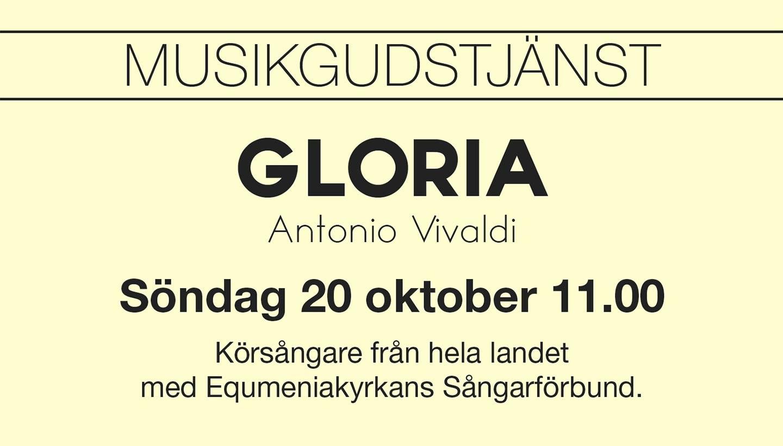 Körkonsert med Vivaldis Gloria
