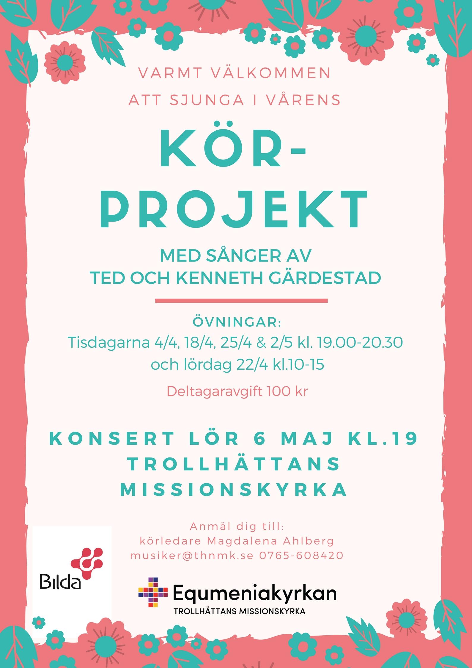 Körprojekt Ted Gärdestad 2017
