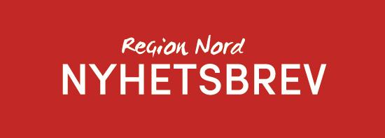 Nyhetsbrev Region Nord logga